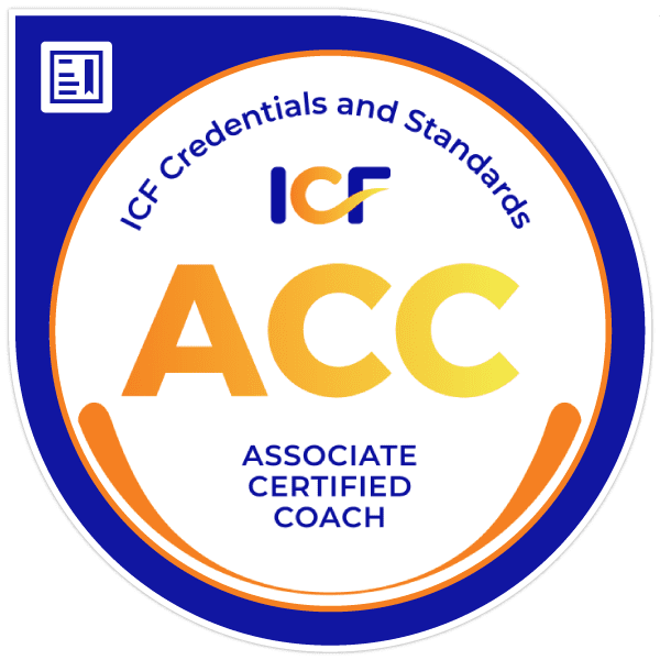 ACC Credential Seal Issued by the International Coaching Federation