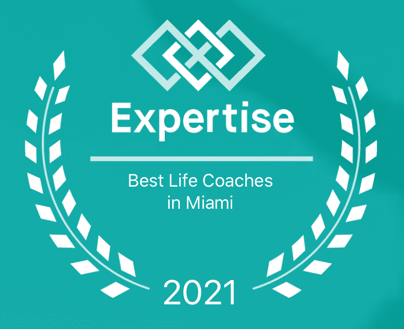 Best Life Coaches in Miami Seal, Issued by Expertise.com
